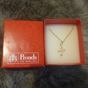Prouds Cross Necklace